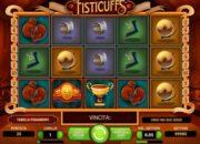 slot machine fisticuffs