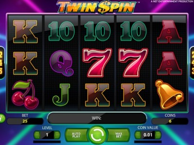 twin spin slot machine online