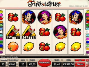 firestarter slot machine