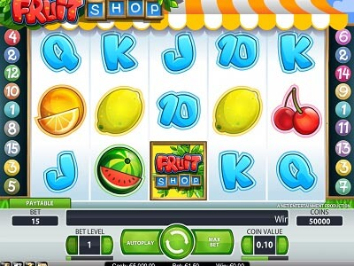 fruit shop slot machine