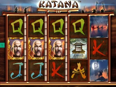 katana slot machine