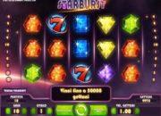 Starburst gratis slot machine