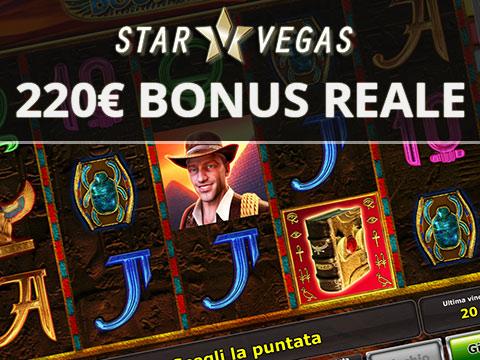 bonus star vegas 220 euro
