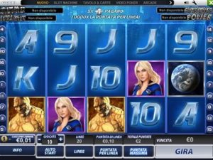 Fantastici 4 slot machine
