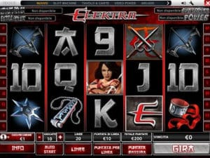 Elektra slot machine