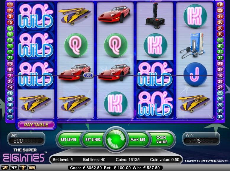 slot machine Super Eighties