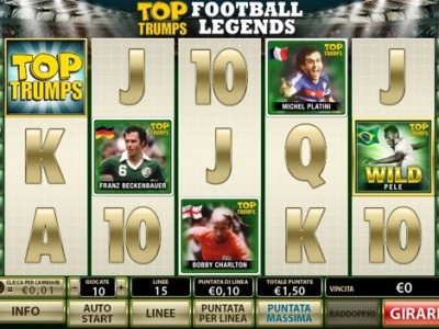 slot machine Top Trump Football Legends