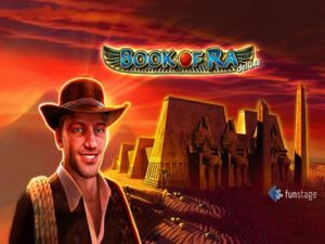 Book of Ra Deluxe slot machine