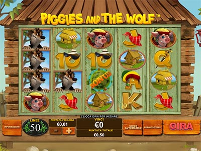 Piggies adn the wolf slot