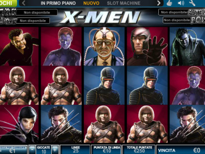 slot machine X-Man