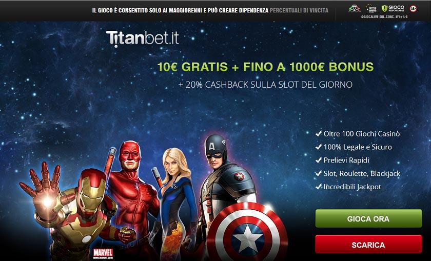 promozioni titanbet