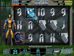 slot machine Wolverine