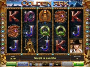 slot machine golden ark online con bonus