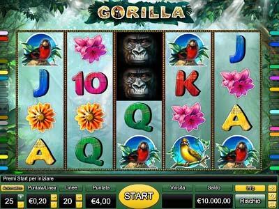Gorilla slot machine gratis con bonus