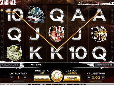 Scarface slot machine gratis con bonus