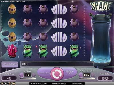 Space Wars slot machine gratis con bonus