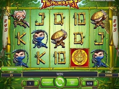 Thunderfist slot machine gratis con bonus