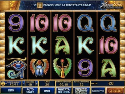 pharaoh's secret slot machine