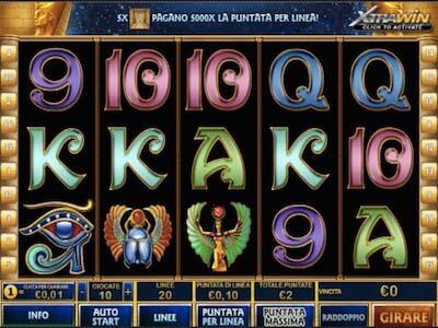 pharaoh's secret slot machine