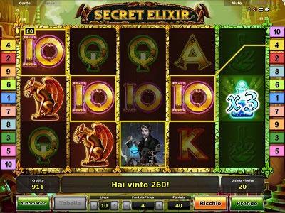 Secret Elixir slot machine