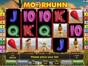 Moorhuhn slot machine