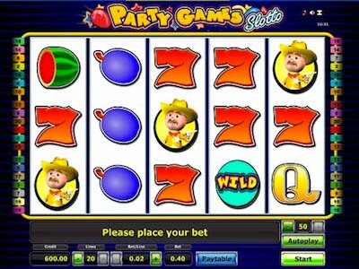 Party Games Slotto slot machine