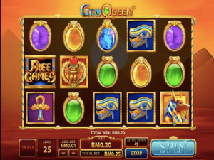 Gem Queen slot machine