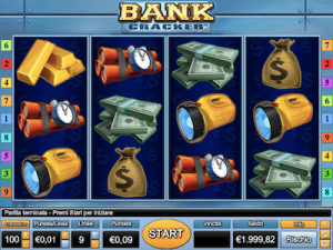 Bank Cracker slot machine