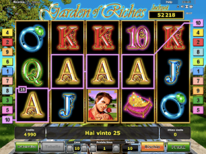 Garden of Riches slot machine