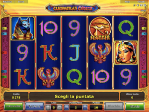 Cleopatra's Choice slot machine