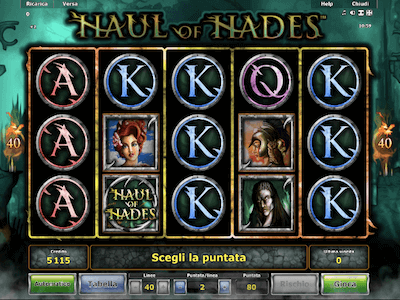 Haul of Hades slot machine