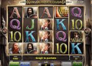 Kingdom of Legend slot machine