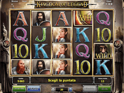 Kingdom of Legend slot machine