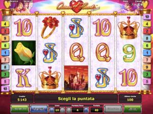 Queen of Hearts Deluxe slot machine