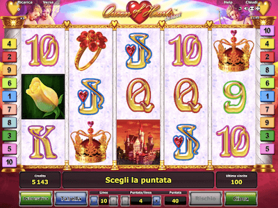 Queen of Hearts Deluxe slot machine