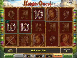 Knights Quest slot machine