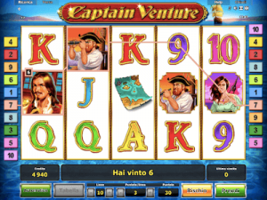 Captain Venture slot machine