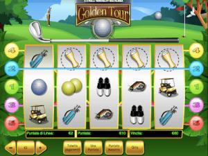 Golden Tour slot machine