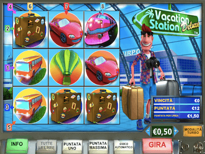 Vacation Station Deluxe slot machine