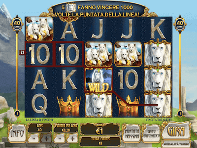 White King slot machine