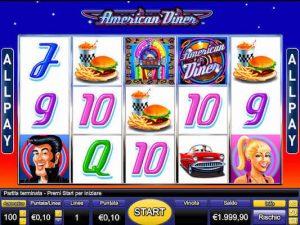 American Diner slot machine