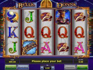 Bella Donna slot machine