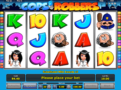 Cops N Robbers slot machine