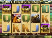 Captain's Treasure slot machine