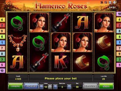 Flamenco Roses slot machine