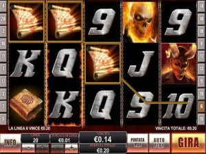 Ghost Rider slot machine