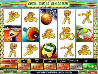 Golden Games slot machine