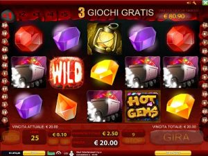 Hot Gems slot machine
