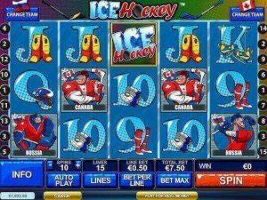Ice Hockey slot machine