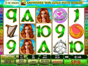 Irish Luck slot machine